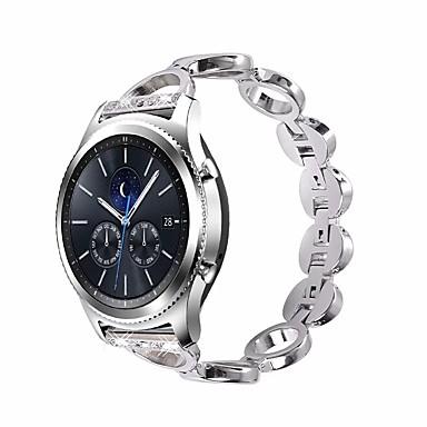voordelige Smartwatch-accessoires-horlogeband voor samsung galaxy horloge 46mm samsung galaxy sieradenontwerp roestvrij stalen polsband