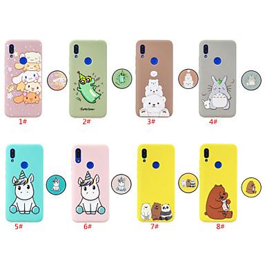 povoljno Maske/futrole za Xiaomi-futrola za xiaomi xiaomi redmi note 5 pro / xiaomi redmi note 7 / xiaomi redmi 7 sa postoljem / uzorkom stražnje korice životinja / crtani tpu