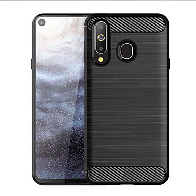 Недорогие Чехлы и кейсы для Galaxy А-Кейс для Назначение SSamsung Galaxy A7 (2017) / A8+ 2018 / A8 Защита от удара / Ультратонкий Кейс на заднюю панель Полосы / волосы ТПУ