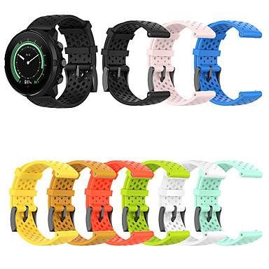 voordelige Smartwatch-accessoires-24 mm sport siliconen band voor suunto spartan sport / suunto spartan sport pols hr / suunto9 / suunto9 baro / suunto d5