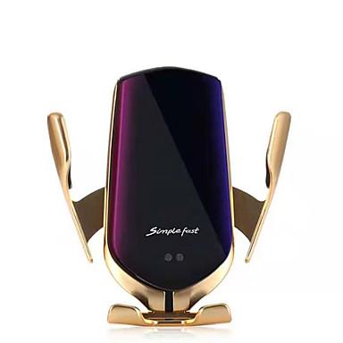 رخيصةأون شواحن لاسلكية-السحر كليب اللاسلكية شحن الهاتف المحمول دعم المواقع الذكية التلقائي التعريفي منفذ الهواء دعم الهاتف المحمول سيارة