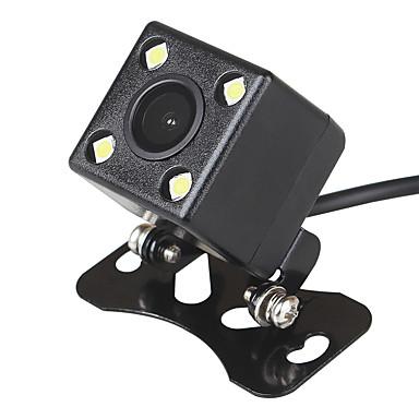 voordelige Auto-achteruitkijkcamera-ziqiao pla systeem 4 led auto nachtzicht reverse monitoring automatisch parkeren waterdicht 170 graden hd video backup camera