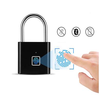 رخيصةأون أدوات اليد-القابلة لإعادة الشحن USB الأمن باب لوحة المفاتيح بصمة ذكي قفل الأمن بدون مفتاح فتح بسرعة