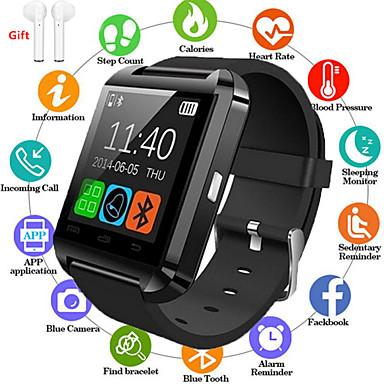 저렴한 스마트 시계-Indear U8 남성 여성 스마트 시계 Android iOS 블루투스 2G 방수 터치 스크린 스포츠 칼로리 태움 핸즈프리 콜 타이머 스톱워치 만보기 콜 알림 액티비티 트렉커
