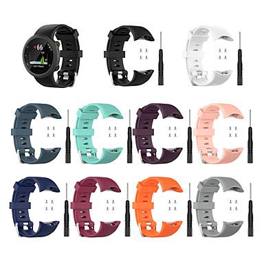 voordelige Smartwatch-accessoires-horlogeband voor Garmin Forerunner 45 / Forerunner 45S Garmin sportband / klassieke gesp / moderne gesp siliconen polsband