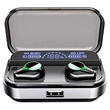 olcso Headsetek és fejhallgatók-LITBest T10 TWS True Wireless Headphone Vezeték nélküli Játszás Bluetooth 5.0 Zajkioltó Sztereó Kettős meghajtók