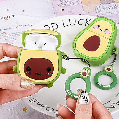 cheap AirPods Cases-Case For AirPods Cute / Shockproof / Dustproof Headphone Case Soft
