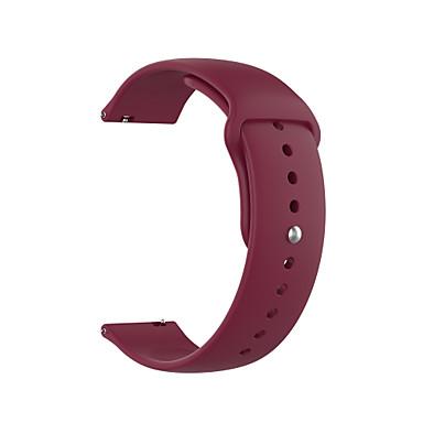 voordelige Smartwatch-accessoires-horlogeband voor samsung galaxy horloge actief 2 40 mm / 44 mm samsung galaxy sportband siliconen polsband