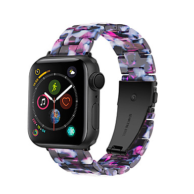 voordelige Smartwatch-accessoires-horlogeband voor appelhorloge serie 5/4/3/2/1 band van appelhars