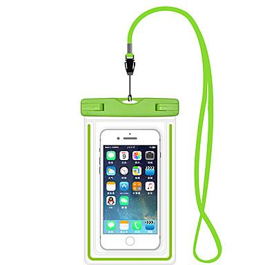 voordelige iPhone-hoesjes-iphone 11/11 pro / 11 pro max / x / xs / xr / xs max / 7 8 plus waterdichte tas 6,5 inch mobiele sellphone zwemhoes lichtgevend drijfvermogen
