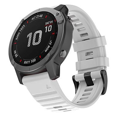 voordelige Smartwatch-accessoires-horlogeband voor fenix6x garmin sportband siliconen polsband