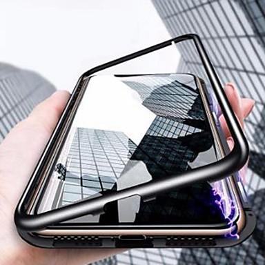 voordelige iPhone-hoesjes-hoesje Voor Apple iPhone 11 / iPhone 11 Pro / iPhone 11 Pro Max Stofbestendig / Spiegel / Ultradun Volledig hoesje Transparant Gehard glas / Metaal