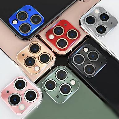 Недорогие Защитные плёнки для экрана iPhone-защитная пленка для объектива камеры для iphone 11 pro max металлическая камера защитная крышка объектива на для iphone 11 pro max крышка камеры