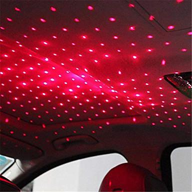 Недорогие Освещение салона авто-Светодиодный автомобиль крыша звезда ночник атмосфера галактики лампа usb декоративная лампа регулируемые несколько световых эффектов