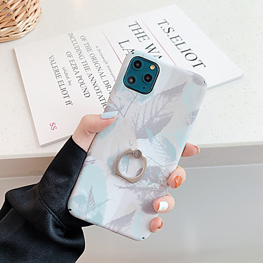 voordelige iPhone-hoesjes-hoesje Voor Apple iPhone 11 / iPhone 11 Pro / iPhone 11 Pro Max Ringhouder / Patroon Achterkant Landschap / Boom TPU