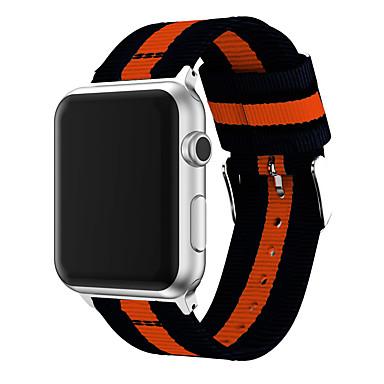 voordelige Smartwatch-accessoires-horlogeband voor Apple Watch-serie 5/4/3/2/1 Apple sportband / klassieke gesp nylon polsband
