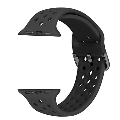 cheap Smartwatch Accessories-Watch Band for Apple Watch Series 5/4/3/2/1 Apple Sport Band Silicone Wrist Strap