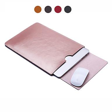 """Χαμηλού Κόστους Θήκες, τσάντες και πορτοφόλια Mac-Μανίκια Μονόχρωμο / Δουλειά PU δέρμα για MacBook Air 11 ιντσών / MacBook Pro 13"""" s Retina zaslonom / MacBook Air 13 ιντσών"""