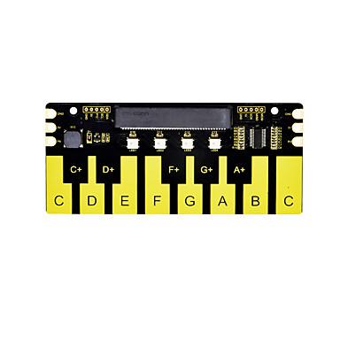 رخيصةأون النماذج-الدرع البيانو keyestudio ل microbit (أسود وصديق للبيئة)
