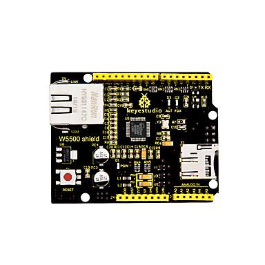 رخيصةأون النماذج-keyestudio w5500 شبكة الدرع (أسود وصديق للبيئة)