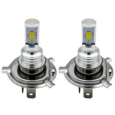 cheap Car Headlights-2pcs H7 H8 H11 9005 9006 HB4 H1 H3 3570 Chip Canbus External Led Bulb Car Led Fog Driving Lights Lamp Light Source 12-24V