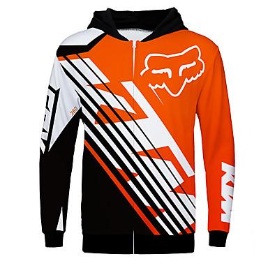 olcso Motoros dzsekik-róka ktm 360 motorkerékpár trikó ruha dzseki unisex poliészter tavaszi / őszi / téli melegebb / lélegző / gyorsan száraz