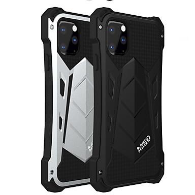 Недорогие Кейсы для iPhone X-Кейс для Назначение Apple iPhone 11 / iPhone 11 Pro / iPhone 11 Pro Max Защита от удара Кейс на заднюю панель Однотонный Алюминий