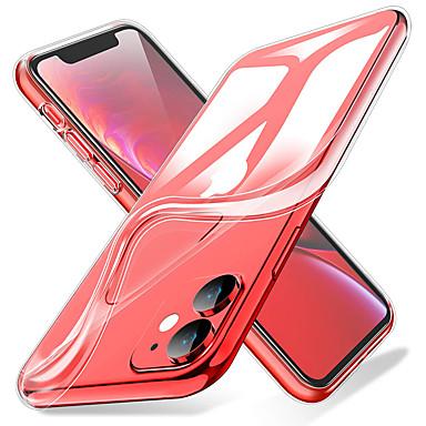 voordelige iPhone-hoesjes-transparante zachte tpu-telefoonhoes voor iPhone 11 11 pro 11 pro max xs max xr xs x 8 8 plus 7 7 plus 6 6 plus 6s 6s plus