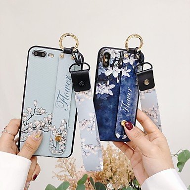 Huawei p30 pro mobiele telefoon case p20 nieuwe witte magnolia polsband mate20x soft shell met lanyard glory 20 all-inclusive anti-fall persoonlijkheid beugel