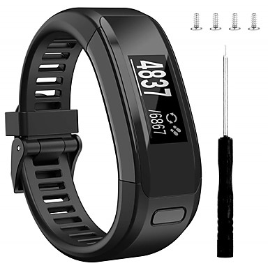 voordelige Smartwatch-accessoires-smartwatch band voor garmin vivosmart hr sportband zachte siliconen polsband