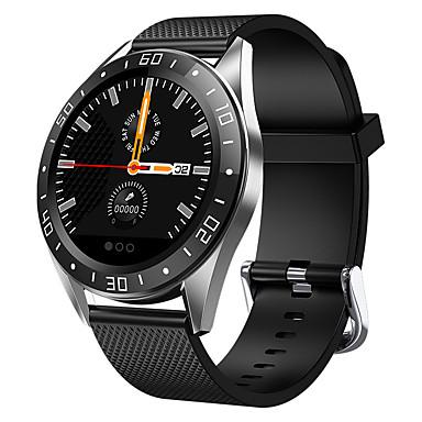 رخيصةأون ساعات ذكية-gw15 smartwatch بلوتوث اللياقة البدنية تعقب دعم إخطار / قياس ضغط الدم الرياضية ووتش الذكية للهواتف سامسونج / فون / الروبوت