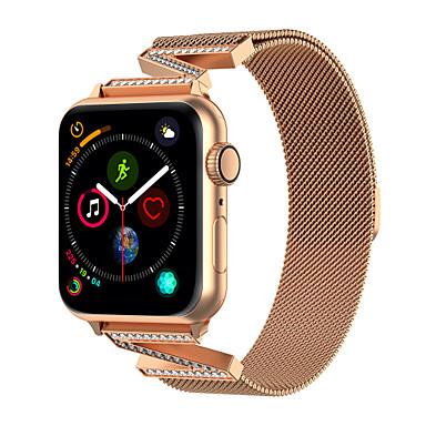 Недорогие Аксессуары для смарт-часов-ремешок для часов для Apple Watch серии 5/4/3/2/1 дизайн ювелирных изделий Apple из нержавеющей стали ремешок на запястье