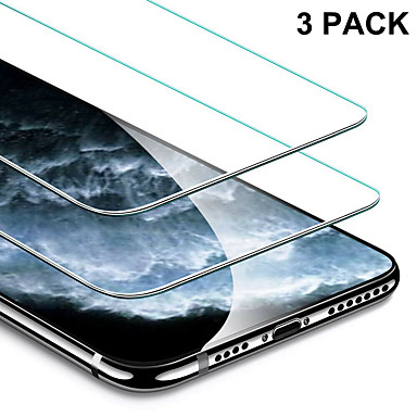 voordelige iPhone screenprotectors -3 stks Full Cover gehard glas voor iPhone 11 Pro 2019 op iPhone XR X XS Max schermbeschermer beschermglas voor iPhone XI XIR Max