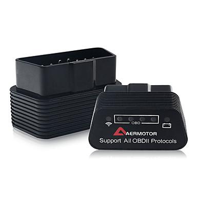 voordelige Autogereedschap & -apparatuur-aermotor elm327 wifi obd2 v1.5 pic18f25k80 auto detector ondersteunt ios en android voor aermotor obd2