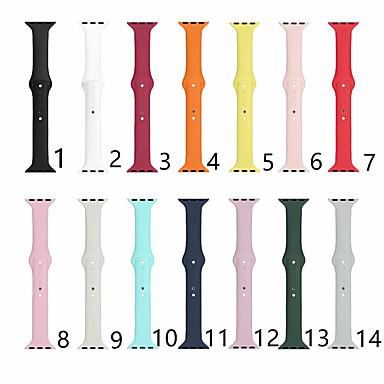 Недорогие Ремешки для Apple Watch-ремешок для часов для часов серии apple 5/4/3/2/1 apple classic ремешок силиконовый ремешок