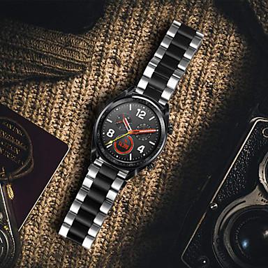 voordelige Smartwatch-accessoires-metalen roestvrij stalen horlogeband polsband voor Huawei horloge GT 2 46mm / horloge 2 pro / honor magic / GT actieve vervangbare armband polsband