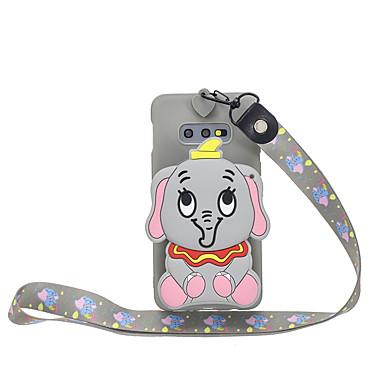 voordelige Galaxy S-serie hoesjes / covers-hoesje Voor Samsung Galaxy S9 / S9 Plus / S8 Plus Portemonnee / Patroon Achterkant dier / Cartoon TPU