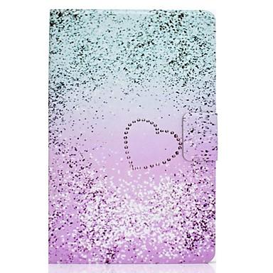 رخيصةأون أغطية أيباد-غطاء من أجل Apple iPad Air / iPad 4/3/2 / iPad (2018) حامل البطاقات / مع حامل / نموذج غطاء كامل للجسم قلب جلد PU / TPU