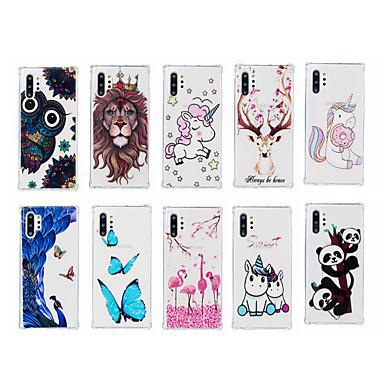 voordelige iPhone-hoesjes-hoesje Voor Apple iPhone 11 / iPhone 11 Pro / iPhone 11 Pro Max Schokbestendig / Patroon Achterkant Vlinder TPU