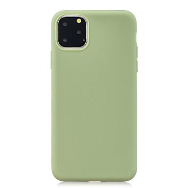 Недорогие Кейсы для iPhone X-чехол для яблока iphone 11 / iphone 11 pro / iphone 11 pro max противоударная задняя крышка сплошного цвета для iphone xs max xr xs x 8 плюс 7 плюс 6 плюс 8 7 6s