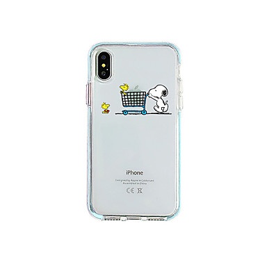 voordelige iPhone-hoesjes-hoesje Voor Apple iPhone 11 / iPhone 11 Pro / iPhone 11 Pro Max Ultradun / Transparant Achterkant Transparant / Cartoon TPU