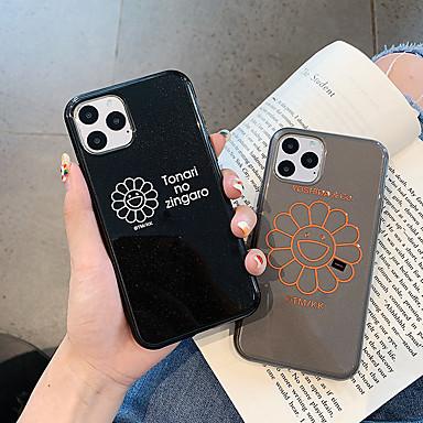 voordelige iPhone 6 hoesjes-glitter shine Sun Flower TPU Case voor Apple iPhone 11 pro max 8 plus 7 plus 6 plus max patroon achterkant