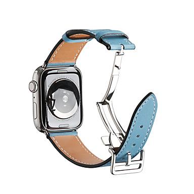 voordelige Smartwatch-accessoires-horlogeband voor Apple Watch Series 4 / Apple Watch Series 3 / Apple Watch Series 2 Apple Jewelry Design roestvrij stalen polsband