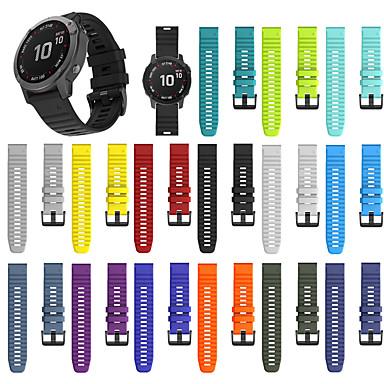 billiga Tillbehör till mobilen-för garmin fenix 6x / 6x pro fenix 5x / 5x plus utbyte av snabbutlösande silikonurband armband 26mm