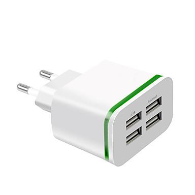 economico Caricabatterie veloci-Caricatore veloce Caricabatteria USB Presa EU Multiuscita 4 porte USB 4 A 100~240 V per Universali