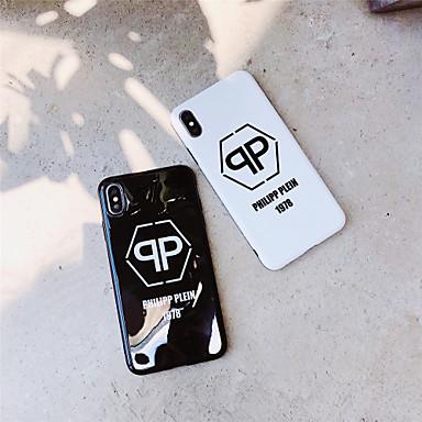 Недорогие Кейсы для iPhone 6-Кейс для Назначение Apple iPhone 11 / iPhone 11 Pro / iPhone 11 Pro Max IMD / С узором Кейс на заднюю панель Слова / выражения ТПУ