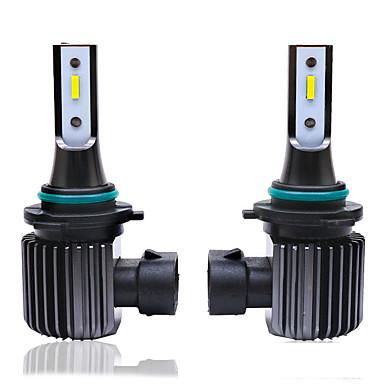 voordelige Autokoplampen-2 stks auto koplamp lampen led h1 h3 h7 h11 9005 9006 9-18 v 55 w 9200lm / paar lamp auto lamp licht 1860 csp led witte kleur