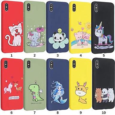 voordelige iPhone X hoesjes-hoesje Voor Apple iPhone 11 / iPhone 11 Pro / iPhone 11 Pro Max Schokbestendig / Patroon Volledig hoesje Panda TPU
