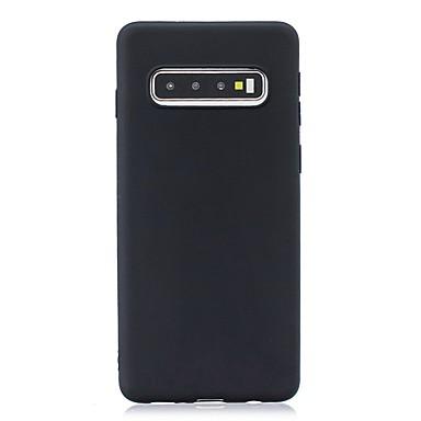 Недорогие Чехлы и кейсы для Galaxy S-Кейс для Назначение SSamsung Galaxy S9 / S9 Plus / S8 Plus Ультратонкий / Матовое Кейс на заднюю панель Однотонный ТПУ