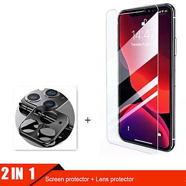 voordelige iPhone screenprotectors-2lin1 cameraglas voor iphone 11 pro max screen protector lensglas voor iphone 11 11pro beschermglas